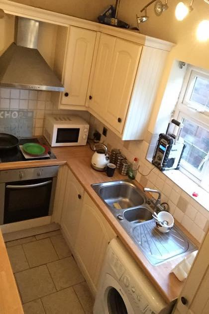 Kitchen Refurbishment Before, Ashfield